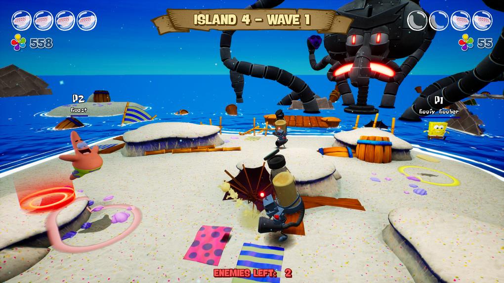 Скриншот №7 к SpongeBob SquarePants Battle for Bikini Bottom - Rehydrated