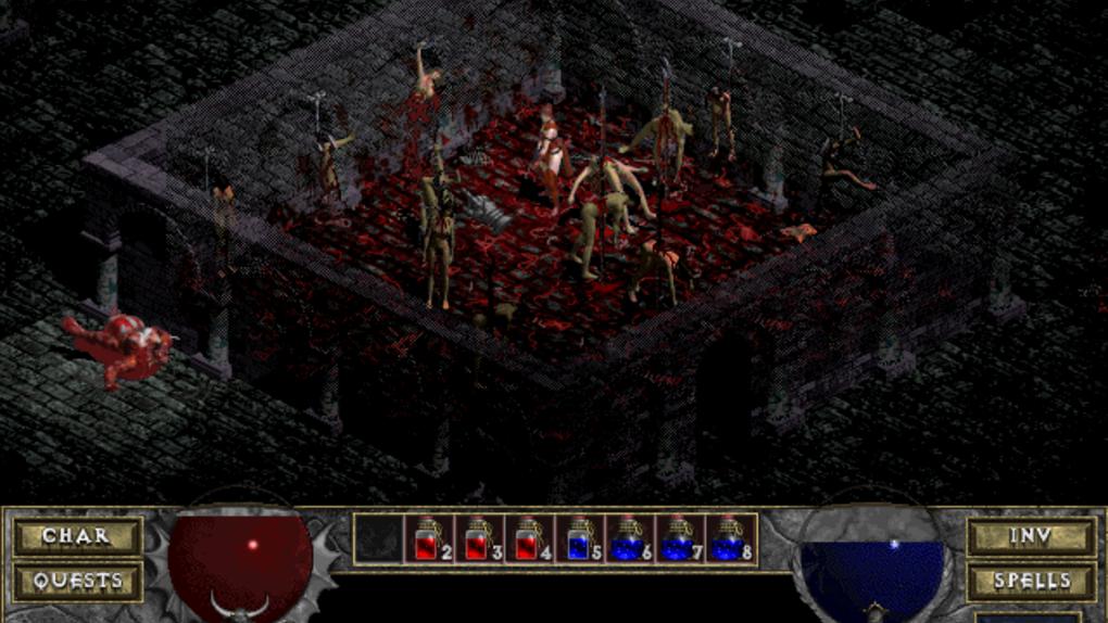 Скриншот №2 к Diablo + Hellfire
